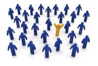 Social network tribe leader