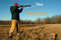 Shoot down ideas