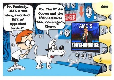 Mr. Peabody on AMCs