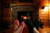 Bears Den Fireplace