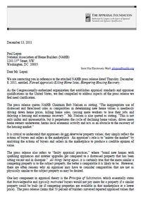 Appraisal Foundation Letter