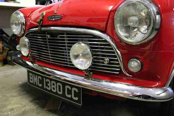 Wdydtymt Installed Fog Lights On Classic Mini Paddy S