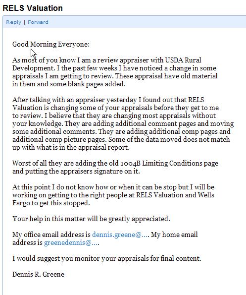 appraisal report writing