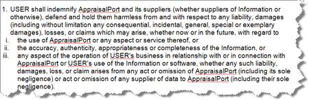 Appraisalport_hold_harmless