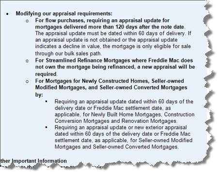 Freddie_mac_appraisal_update