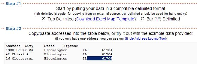Plot addresses on map from excel free : Hp series pp2090